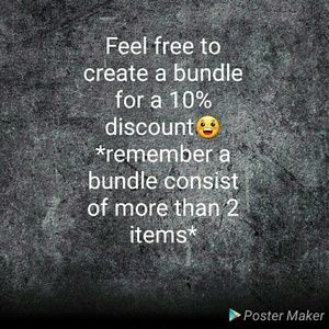 Other - *10% of Bundles*
